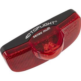 Busch + Müller 4D-Toplight senso multi Sykkellys rød/Svart